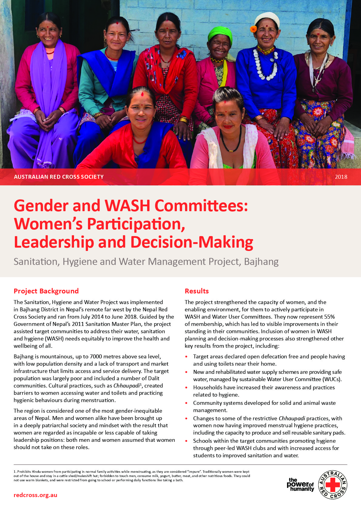 Gender and WASH Committees
