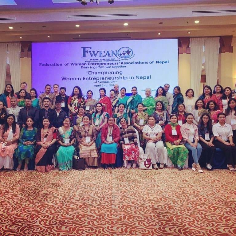 Championing Women Entrepreneurship in Nepal
